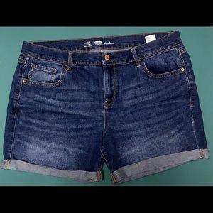Woman's Ol Navy Jean Shorts